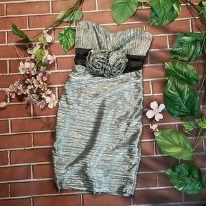 Retro glam club dress, sz small, stretchy & sexy